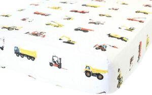 Addison Belle Store Organic Cotton Fitted Crib Sheet