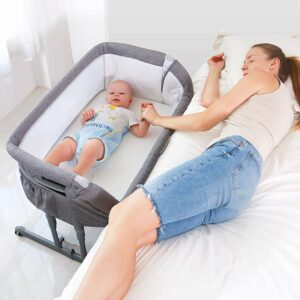 Angelbliss Baby Bassinet & Bedside Sleeper