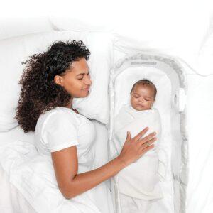 Baby Delight Snuggle Nest Harmony Portable Infant Sleeper