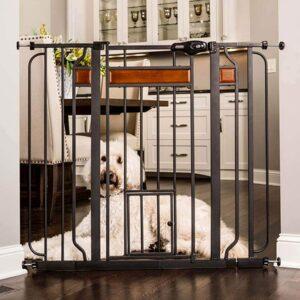 Carlson Home Design Extra Tall Walk-Thru Pet Gate