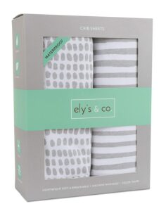 Ely's and Co. Store Waterproof Crib Sheet