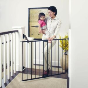 Toddleroo by North States Easy Swing & Lock Baby Gate Best Baby Gate For Stairs