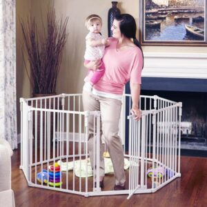 Toddleroo by North States 3 in 1 Metal Superyard